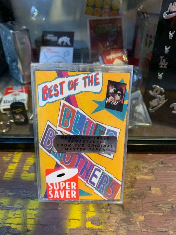 product details: VINTAGE CASSETTE TAPE - BLUES BROTHERS - BEST OF THE BLUES BROTHERS photo