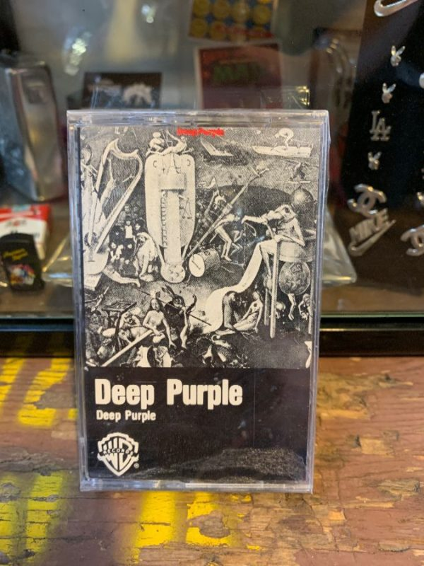product details: VINTAGE CASSETTE TAPE - DEEP PURPLE - DEEP PURPLE photo