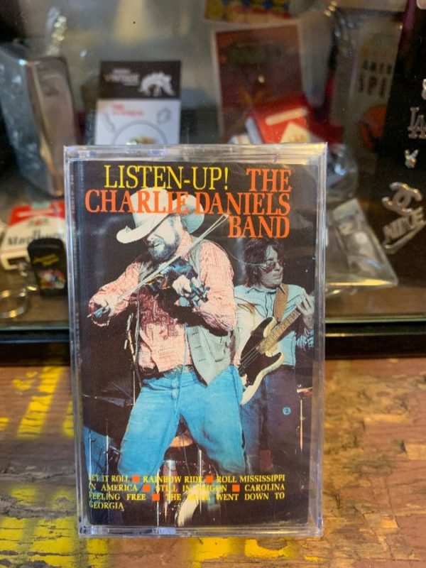product details: VINTAGE CASSETTE TAPE - THE CHARLIE DANIELS BAND - LISTEN UP! photo