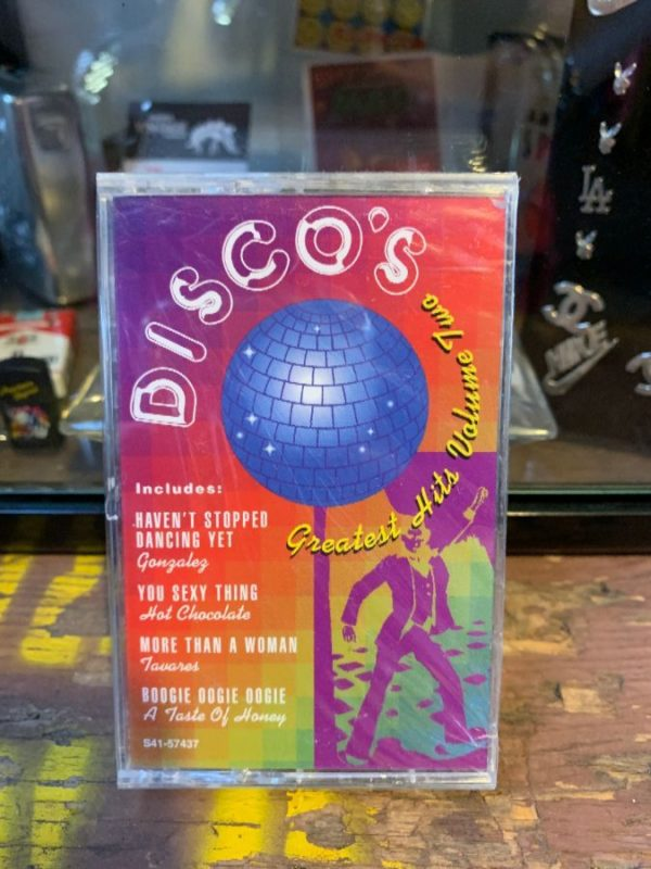 product details: VINTAGE CASSETTE TAPE - DISCO'S GREATEST HITS - VOLUME TWO photo