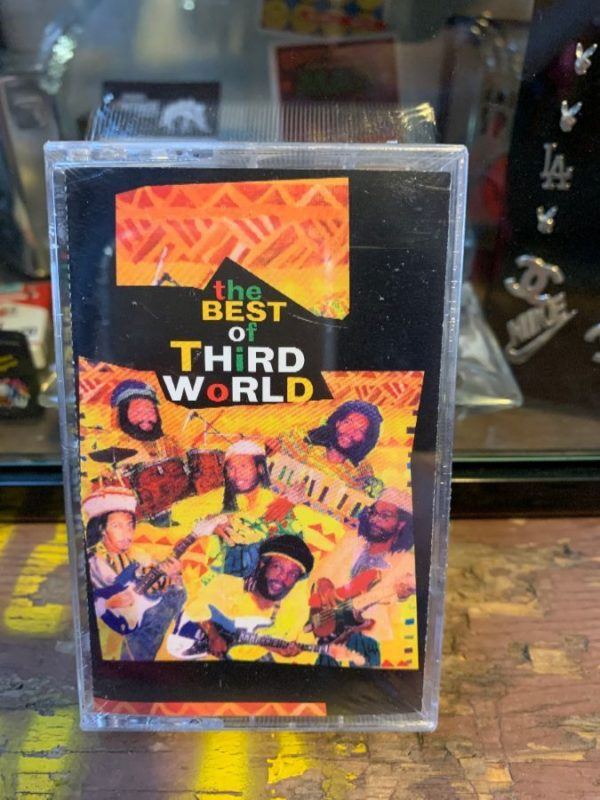 product details: VINTAGE CASSETTE TAPE - THIRD WORLD - THE BEST OF THIRD WORLD photo
