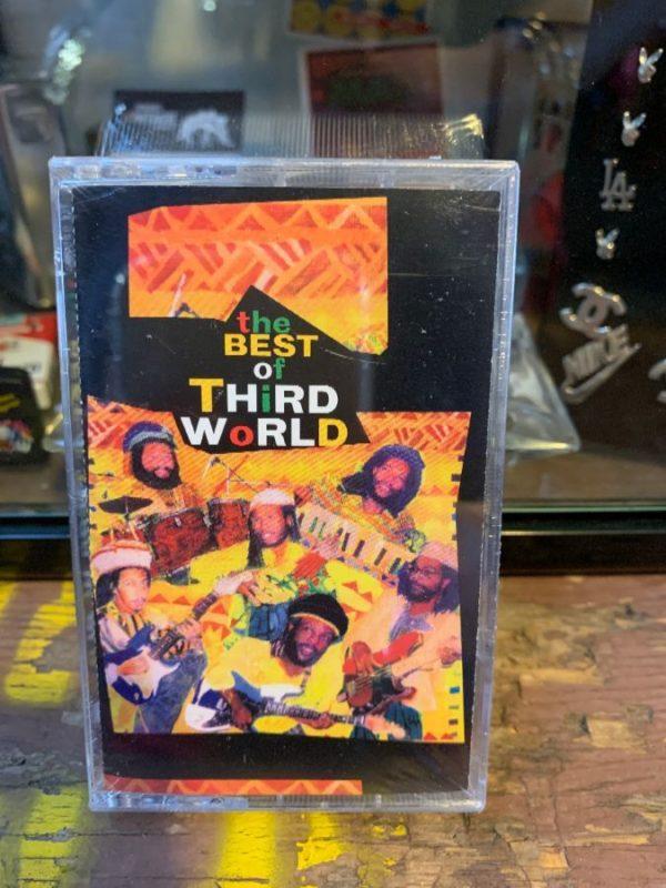 VINTAGE CASSETTE TAPE – THIRD WORLD – THE BEST OF THIRD WORLD