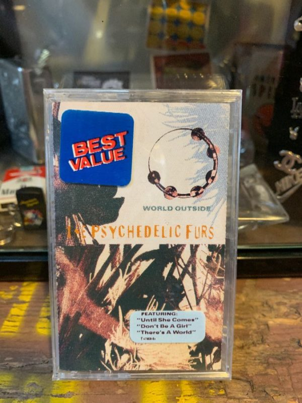 product details: VINTAGE CASSETTE TAPE - THE PSYCHEDELIC FURS - WORLD OUTSIDE photo