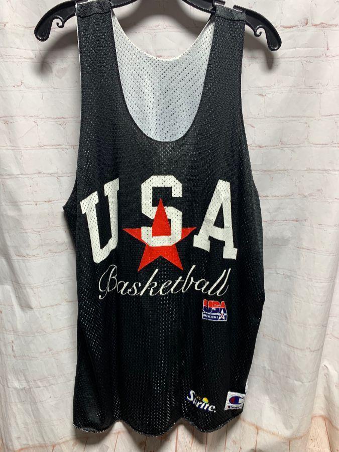Reversible vintage USA America basketball jersey.