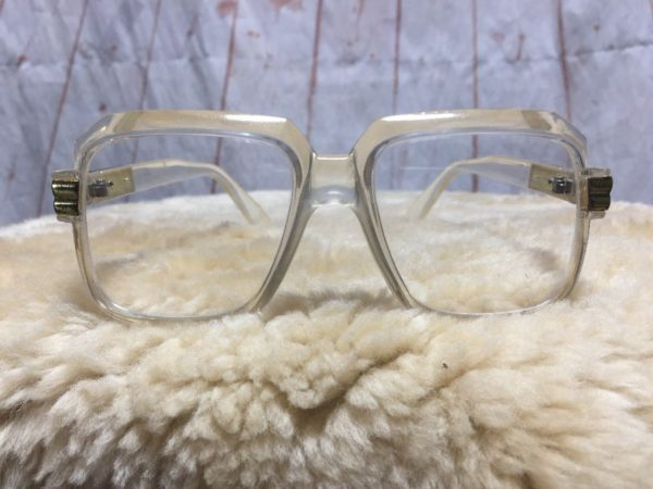 product details: CLEAR FRAMES & CLEAR LENS CAZAL RUN D.M.C. STYLE EYEGLASSES photo