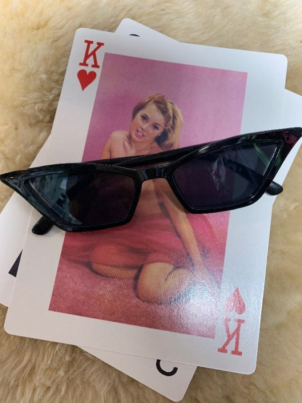 product details: FUNKY MOD EXAGGERATED CAT EYE SUNGLASSES photo