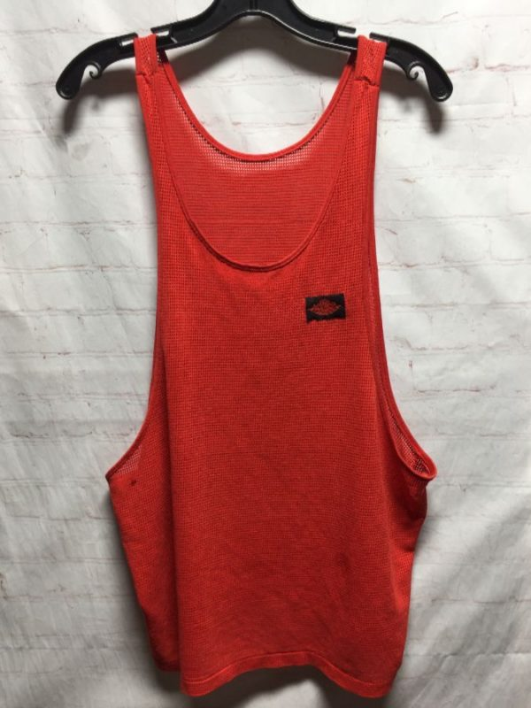 NIKE AIR JORDAN ATHLETIC MESH FABRIC SPORTS TANK TOP