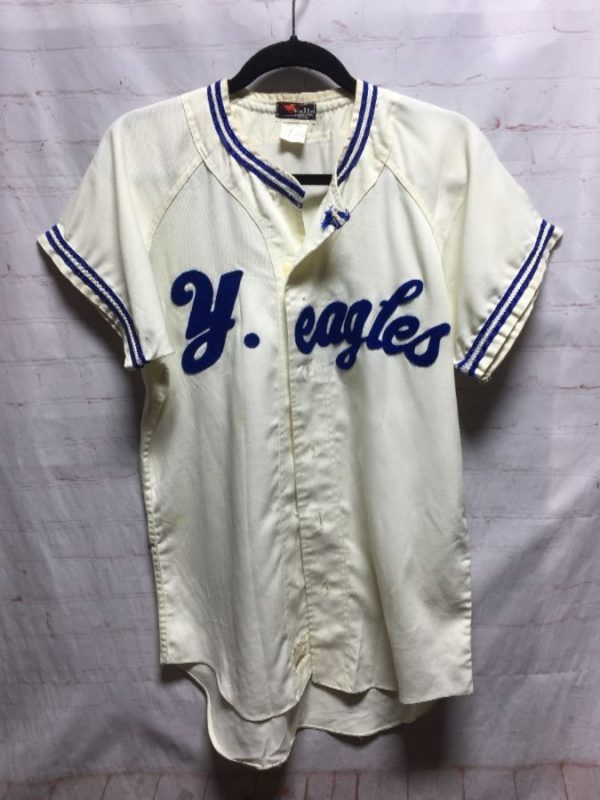 product details: VINTAGE JAPANESE BASEBALL JERSEY SHIRT #11 Y. EAGLE photo