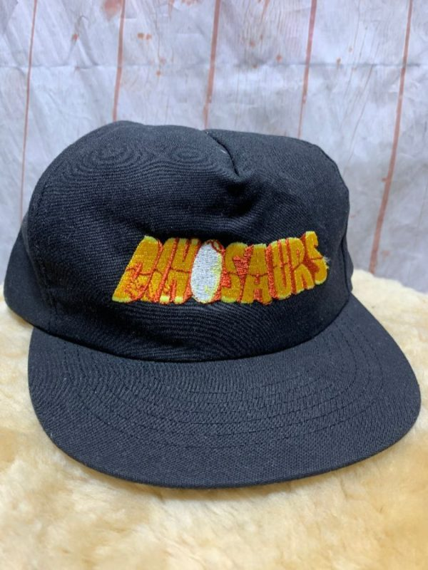 product details: DINOSAURS 1990'S TV SHOW EMBROIDERED SNAP-BACK BASEBALL CAP photo
