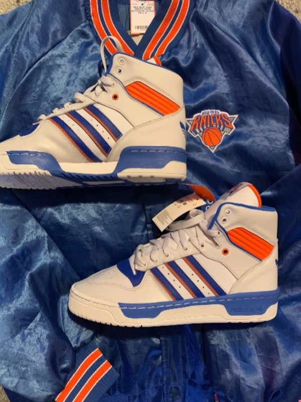 product details: ADIDAS RIVALRY HIGH PATRICK EWING F34139 NEW YORK KNICKS SHOES photo