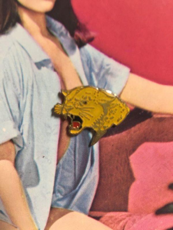 BW ENAMEL PIN – ROARING WILDCAT PIN