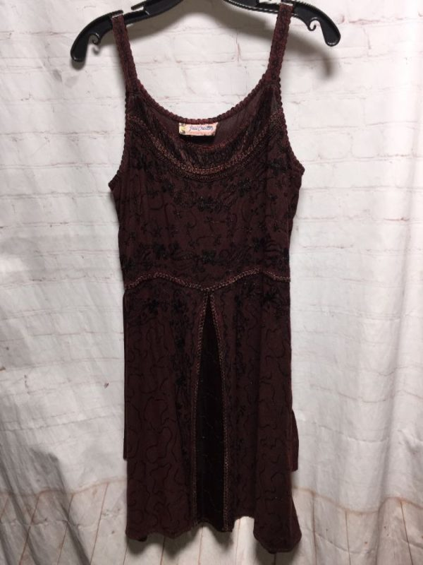 product details: DRESS EMBROIDERED SPAGHETTI STRAP photo