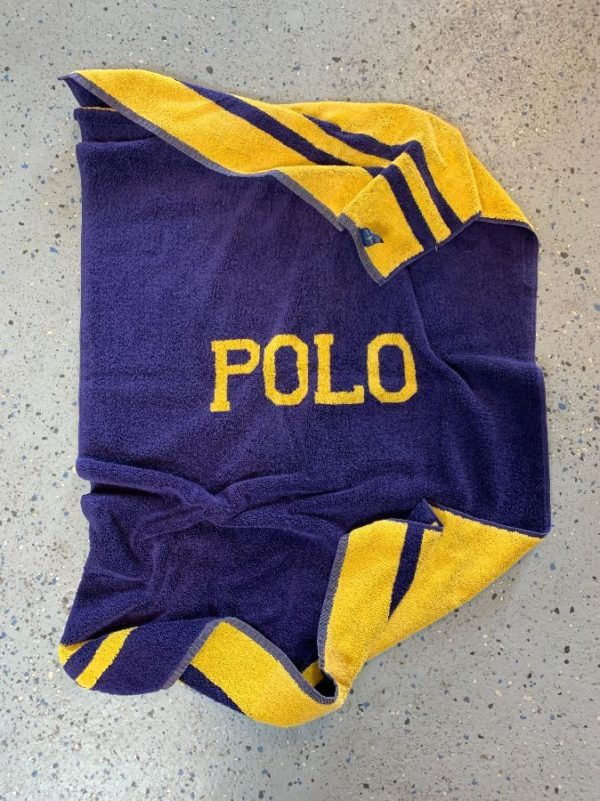 product details: 1990S VINTAGE REVERSIBLE POLO BRAND BEACH TOWEL photo
