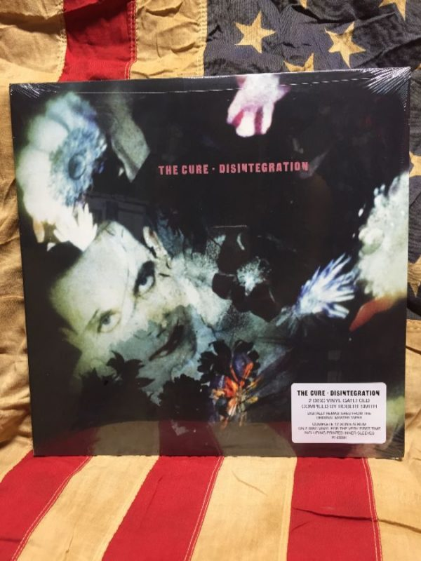 product details: BW VINYL RECORD - THE CURE - DISINTEGRATION photo