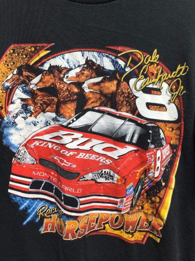 BUDWEISER KING OF BEER NASCAR #8 DALE EARNHARDT JR  T-SHIRT