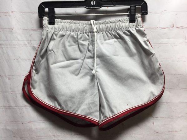 product details: RETRO JANTZEN ACTIVEWEAR SHORTS W/ BOUND EDGE LEG TRIM photo