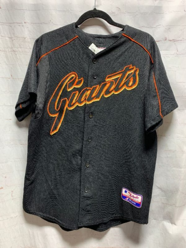 product details: MLB SAN FRANCISCO GIANTS BASEBALL JERSEY #25 BONDS photo