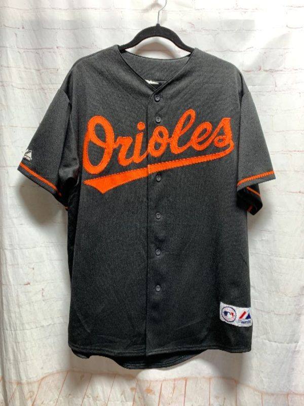 product details: MLB BALTIMORE ORIOLES BASEBALL JERSEY #10 TEJADA photo