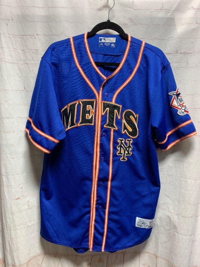 size 40 feadc cafa3 MLB NEW YORK METS BASEBALL JERSEY