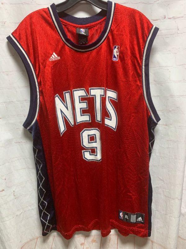 NBA NEW JERSEY NETS BASKETBALL JERSEY #9 YI