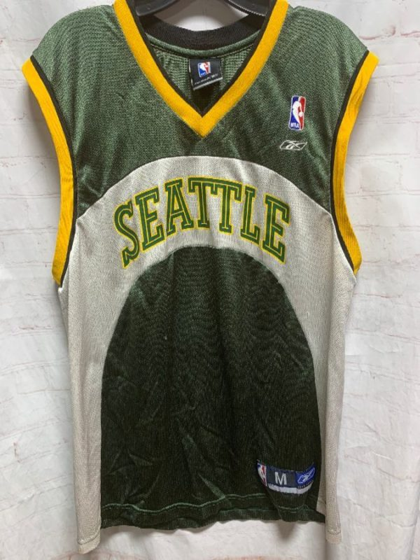 product details: NBA SEATTLE SUPERSONICS BASKETBALL JERSEY photo