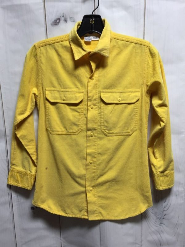 product details: ZEPPELIN CORDUROY SHIRT W/ COLLAR photo