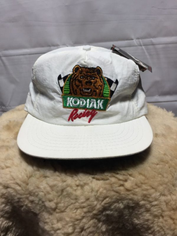product details: KODIAK RACING NYLON BASEBALL CAP W/ EMBROIDERED DESIGN photo