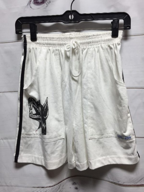 product details: DEADSTOCK BOXING SHORTS OTHER AREAS K9 PRINT *Limited Edition *Local Designer photo