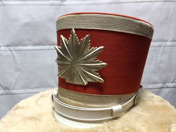 product details: VINTAGE MARCHING BAND HAT - AS IS photo