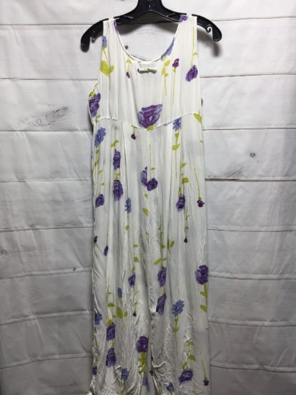 product details: 1990'S FLORAL PRINT RAYON MAXI DRESS photo