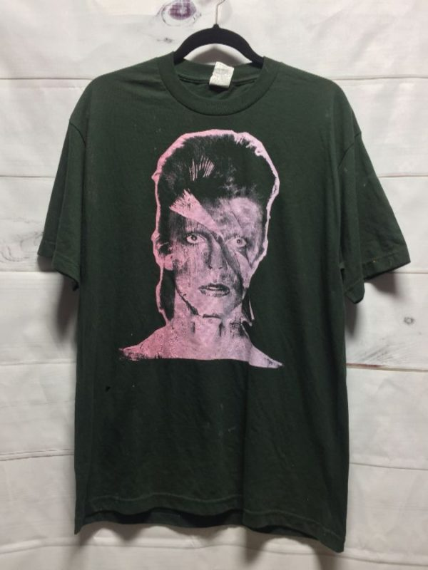 product details: DAVID BOWIE SOUND + VISION BAND TSHIRT photo