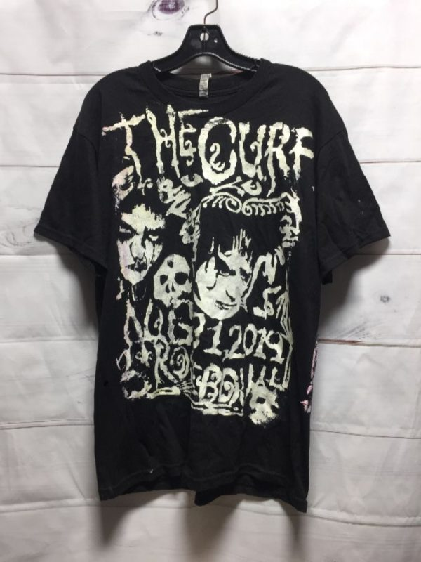 product details: BOOTLEG T-SHIRT W/ THE CURE PASADENA DAYDREAM FESTIVAL photo
