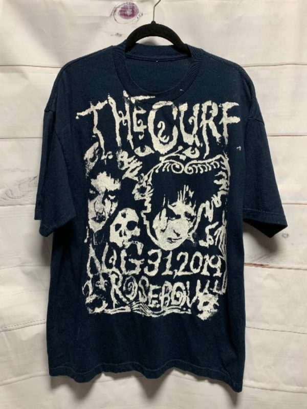 product details: THE CURE BOYS DON\T CRY TSHIRT PASADENA DAYDREAM FESTIVAL BOOTLEG photo