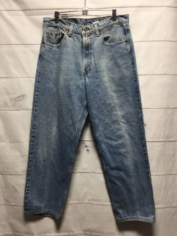 product details: LEVIS 555 RELAXED FIT STRAIGHT LEG DENIM MOM JEANS photo