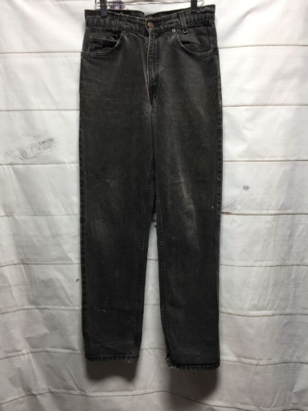 product details: RADICAL LEVIS 550 RELAXED FIT RED TAG DENIM JEANS photo
