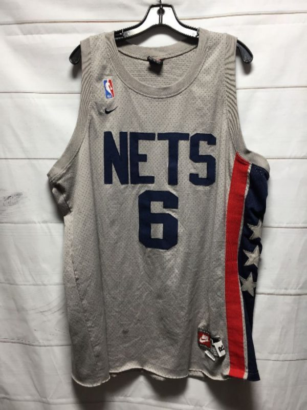 product details: NBA NEW JERSEY NETS MARTIN #6 BASKETBALL JERSEY photo