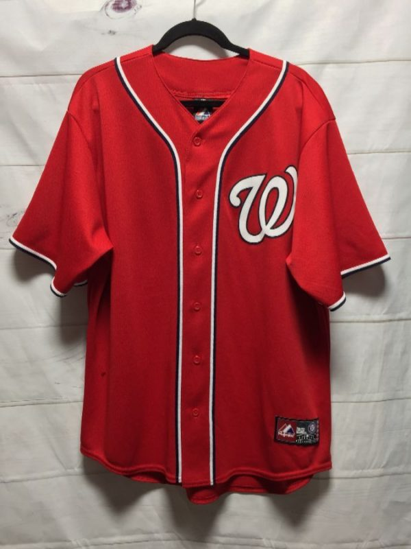 product details: MLB WASHINGTON NATIONALS HARPER #34 BASEBALL JERSEY photo