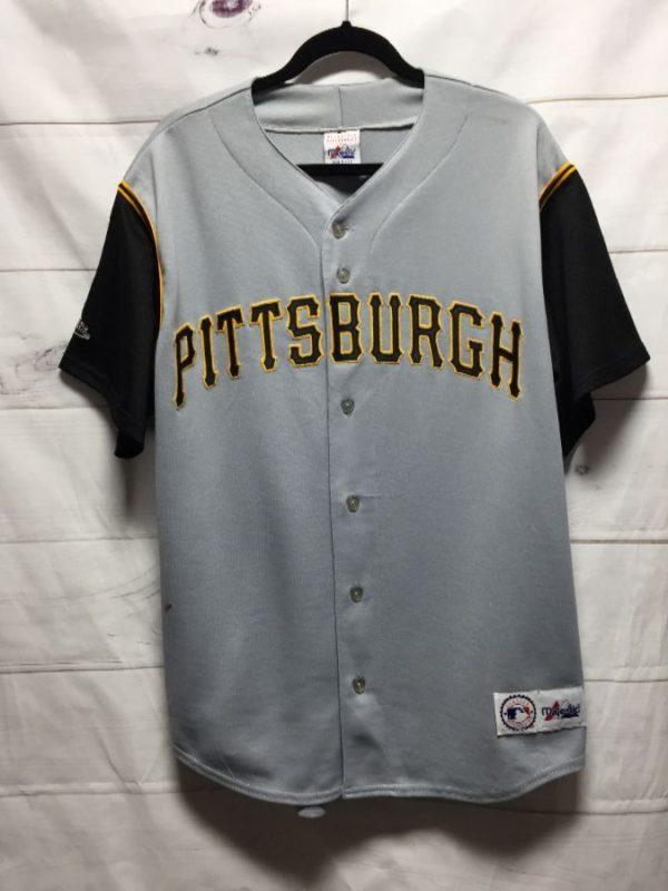 product details: MLB PITTSBURGH PIRATES BASEBALL JERSEY photo