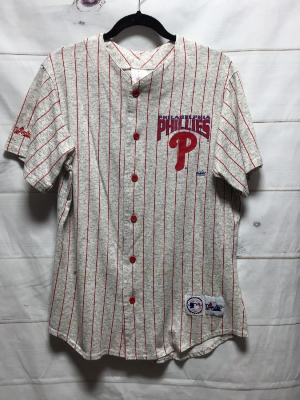 product details: PHILADELPHIA PHILLIES CLASSIC BASEBALL JERSEY photo