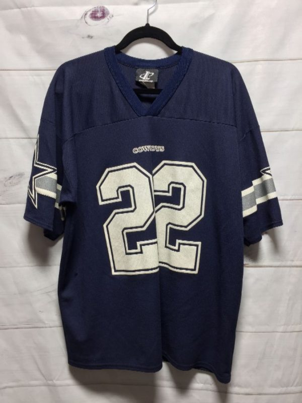product details: NFL DALLAS COWBOYS E. SMITH #22 FOOTBALL JERSEY photo