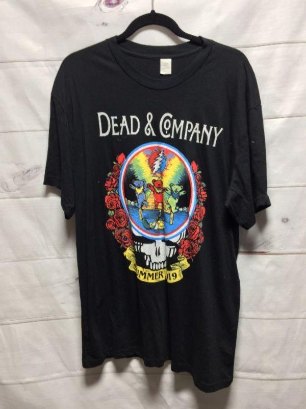 product details: THE GRATEFUL DEAD 2019 DEAD & COMPANY SUMMER TOUR T-SHIRT photo