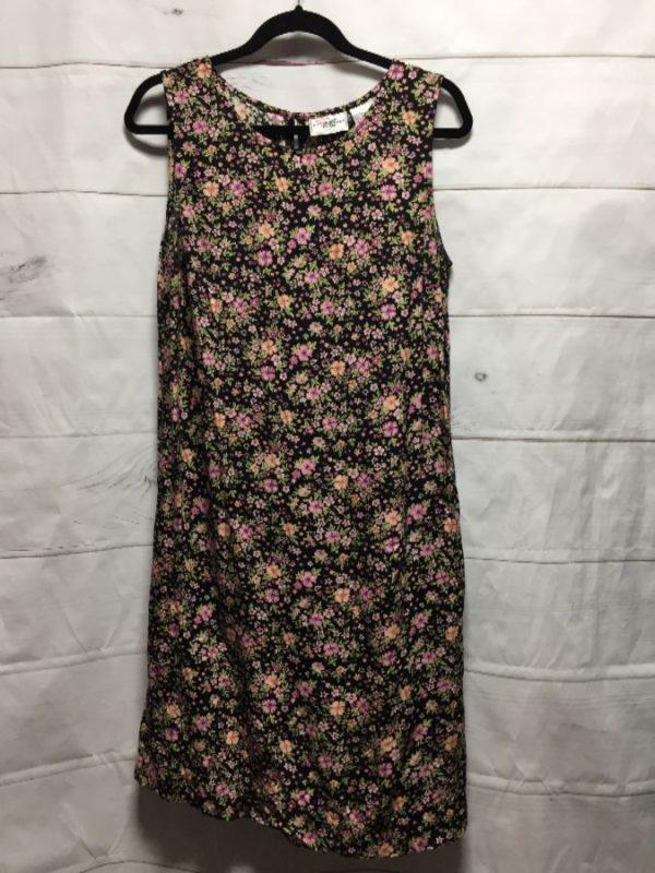 product details: KNEE LENGTH PINK FLORAL DRESS photo