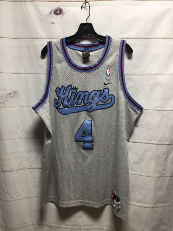 product details: NIKE SACRAMENTO KINGS WEBBER #4 BASKETBALL JERSEY photo