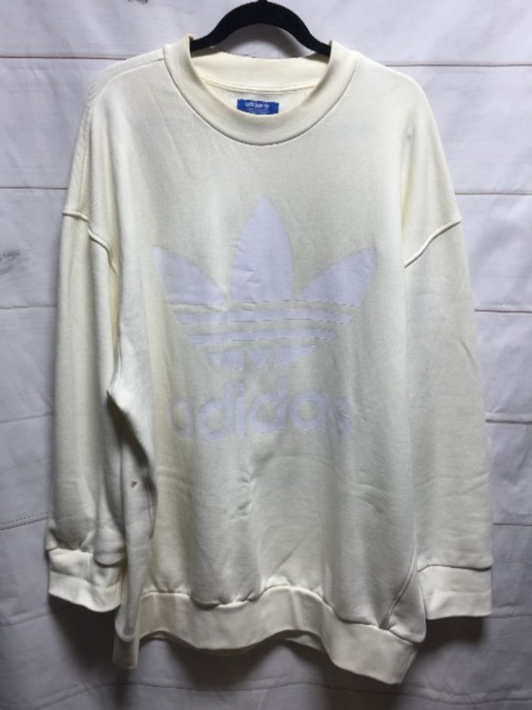 product details: ADIDAS SWEATSHIRT PULLOVER CREWNECK  - AS IS photo