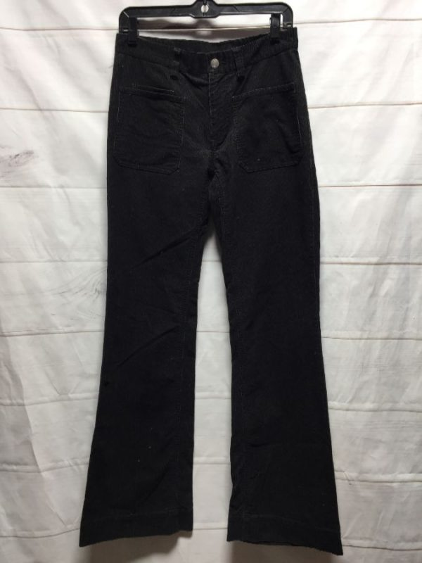 product details: HIGH WAISTED LACOSTE CORDUROY WIDE LEG PANTS photo