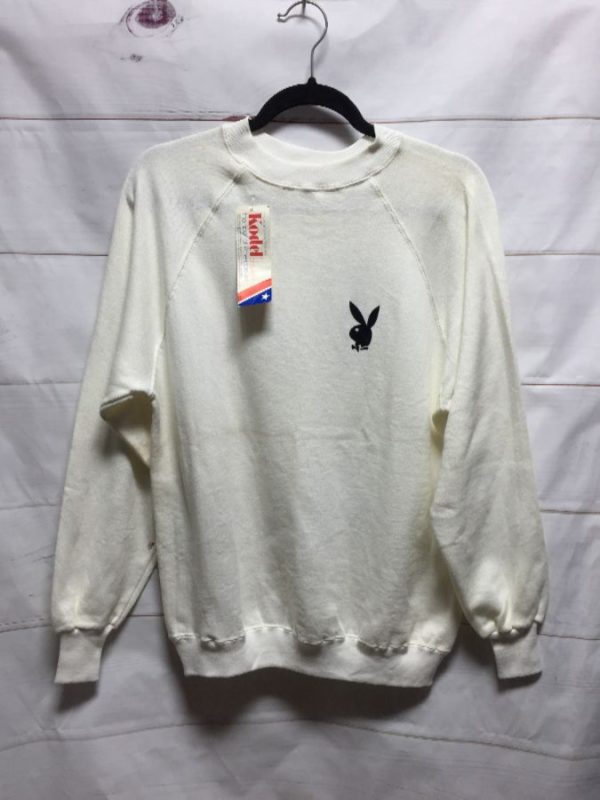 product details: DEADSTOCK OFFICIAL PLAYBOY SWEATSHIRT NOS NWT - AS IS photo