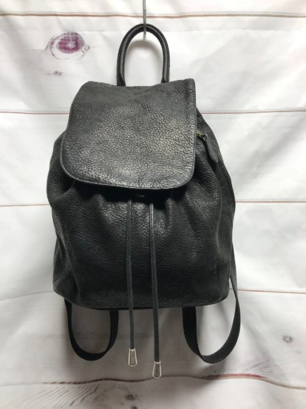 product details: VINTAGE CC COURTENAY LEATHER BAG / BACKPACK - AS IS photo