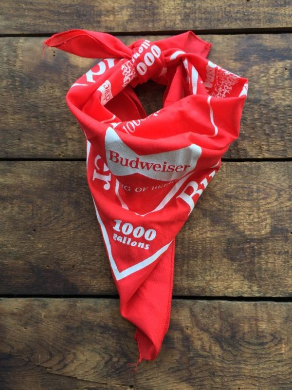 product details: BUDWEISER KING OF BEERS BANDANA photo