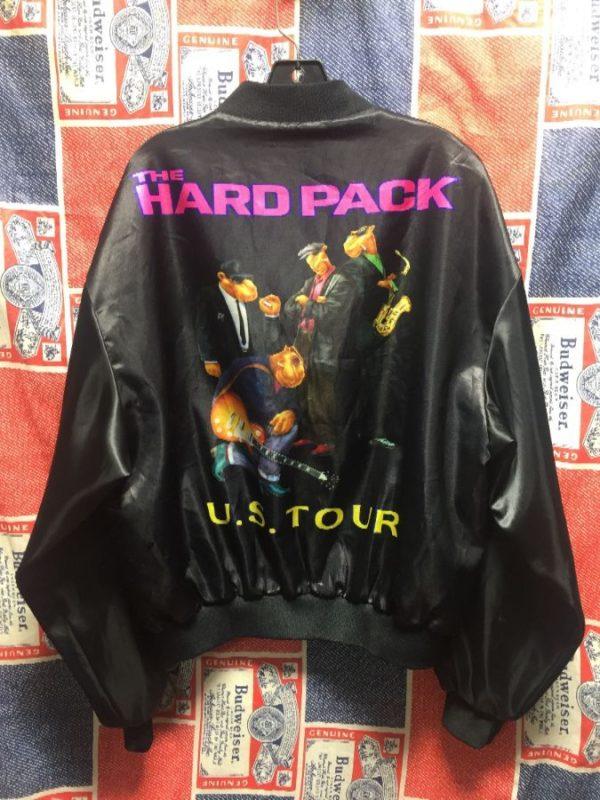 product details: 1990S CAMEL THE HARD PACK US TOUR SATIN BOMBER JACKET photo