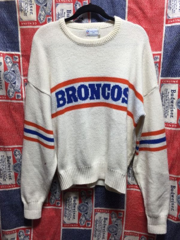 product details: BRONCOS NFL KNITTED SWEATSHIRT photo